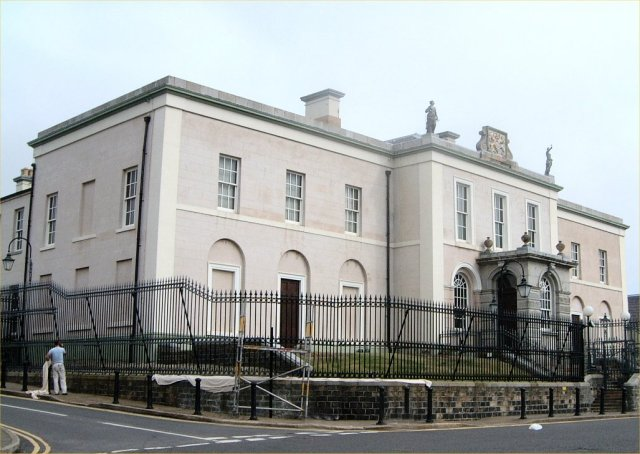 Downpatrick Courthouse: Photo - Patrick Devlin