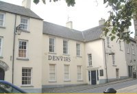 Denvirs Hotel:It is not known precisely when the hotel was built but in 1642 it was in the possession of John and Ann Macgreevy. John had been  a soldier in the army of Charles I and accepted it as part recompense for non-payment of wages. It was a centre for the United Irishmen in the 1790s.